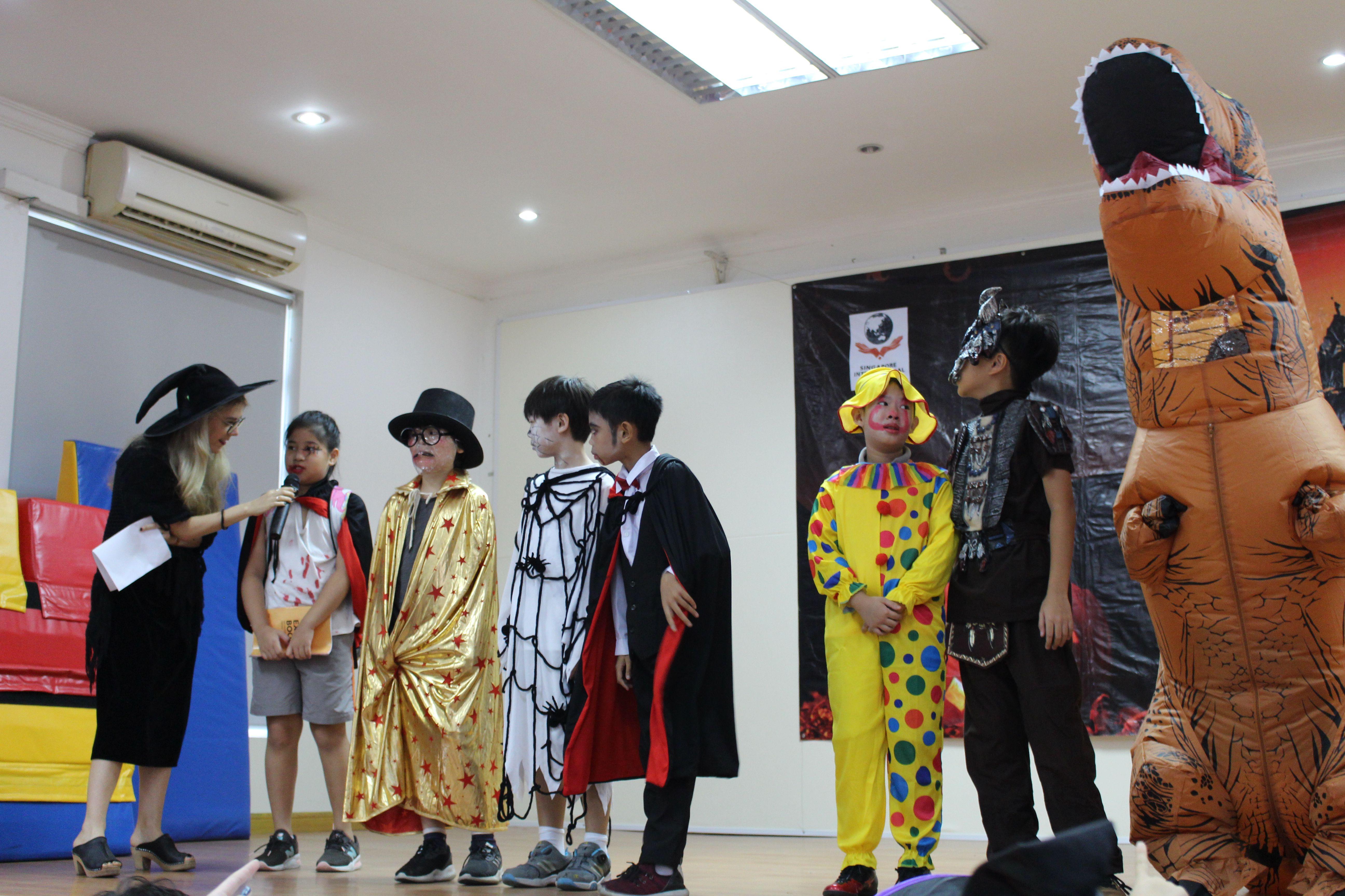 Happy Halloween 2018 2019 Singapore International School