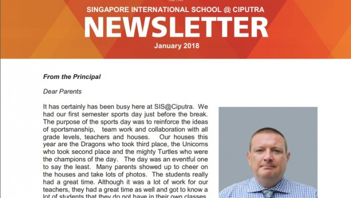 Newsletter Jan